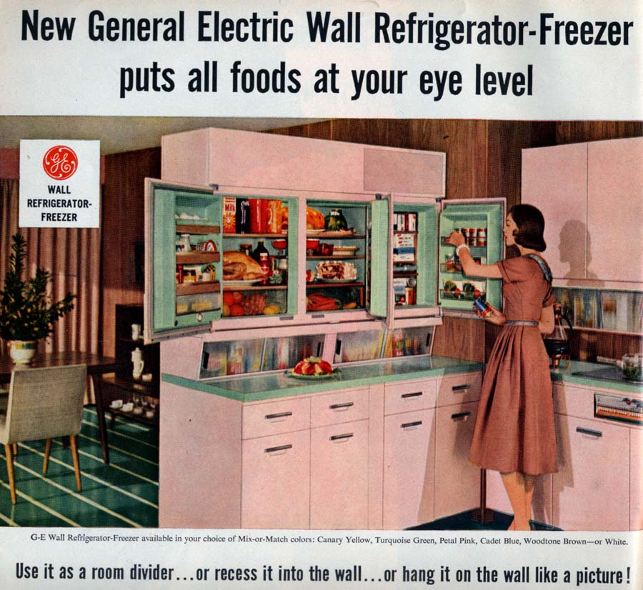 GE Wall Fridge
