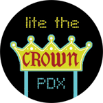 Lite the Crown button